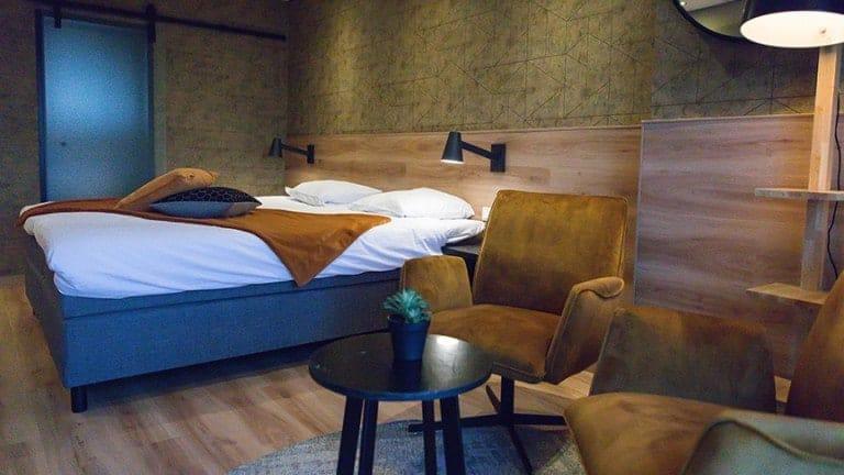 Hotelkamer van 't Wapen van Marion