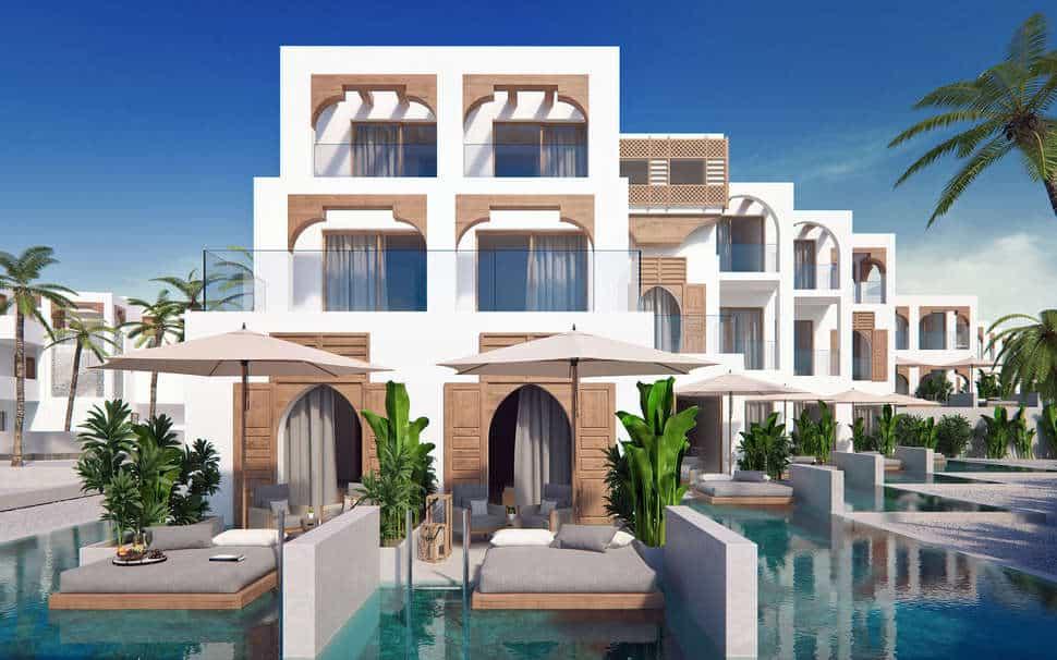 Suite met privëzwembad van Pepper Sea Club Hotel