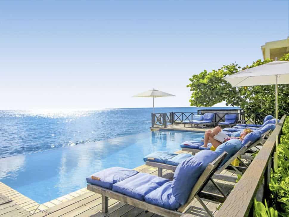 Zwembad van Scuba Lodge Boutique Hotel & Ocean Suites